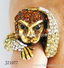 JZ1077 Monkey Type Zinc Alloy Fashion Rings