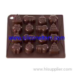 Pavoni ChocoIate Christmas Silicone Mold