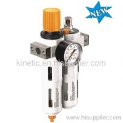 Air Filter regulator + lubricator
