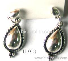 H1013 Tear-Shaped Zinc Alloy Fashion Earrings