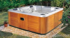 Outdoor spa baths at home