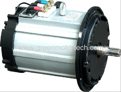 Blac 17kw electric motor manufacturer from china green for Electric car motor manufacturers
