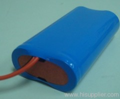7.4V 2S 2200mAh Li-ion 18650 Rechargeable Battery Pack
