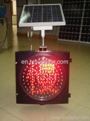 solar traffic lights, solar warning lights, signal lights