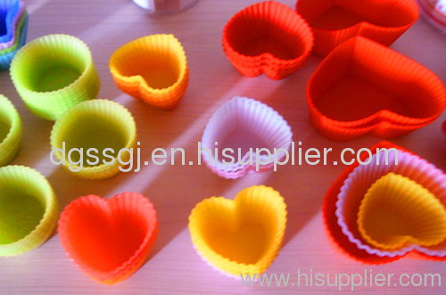 silicone cakecup baking mould