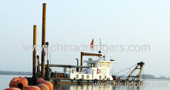 500 m3/h Hydraulic Cutter Suction Dredger