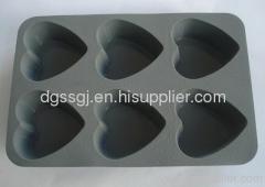 silicone cupcake baking mold