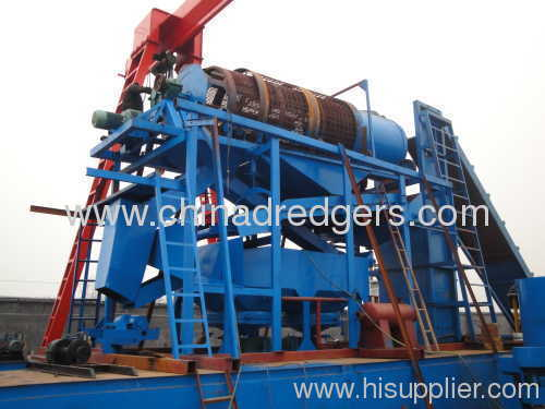 Bucket Type Gold Mining Dredge