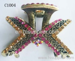 C1004 Newest Jewelry Novel Alloy Metal Hair Claw