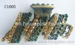 C1005 Newest Jewelry Novel Zinc Alloy Metal Hair Claw With