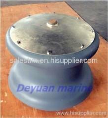 Marine cast steel fairlead roller