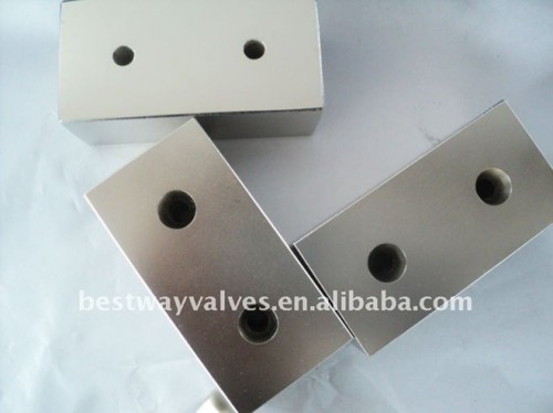 Block NdFeB Magnet with holes
