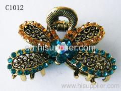 C1012 Flower Shape Zinc Alloy Decorative Hairpins