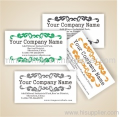 Custom security destructible address labels,security asset labels,name labels