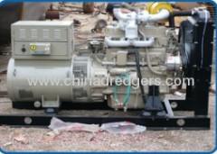 Diesel engine electricity generator