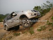 winch test on mountain