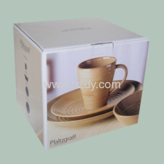 Multi-colour Printed Corrugated Carton for cups