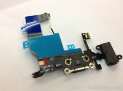 iphone 5 charging port earphone dock microphone lightning connector flex cable