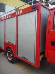 roll-up shutter doors for fire trucks