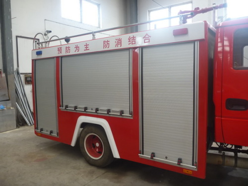 roll-up shutters for fire trucks