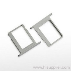 iphone 5 nano SIM card tray holder silver