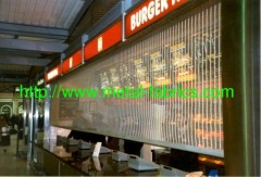 Architectural woven mesh/ Room Dividers/room partitions