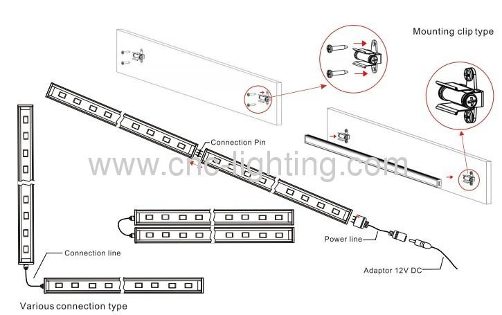 Rigid Led Light Bar Wiring Diagram : Rigid dually wiring diagram led output