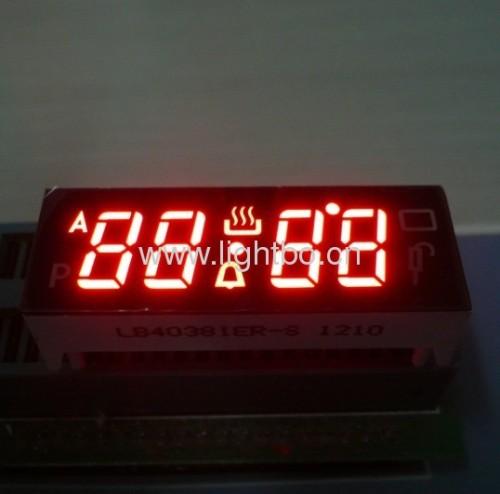 Benutzerdefinierte Design vierstellige 0,38 Zoll Digital Backofen Timer-LED Display, verschiedene Farben erhältlich