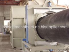 PE pipe plastic machinery