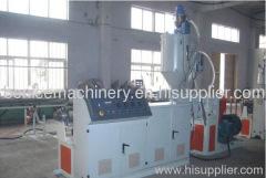 PE pipe plastic extrusion machine