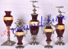 glass craft / home decoration / candlestick / home accessories