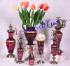 glass craft / home accessories / decoration table lamp / vase
