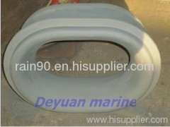 Marine chock(bulwark and deck type)