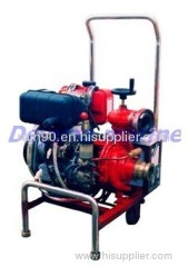The diesel engine driven marine water pump
