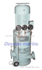 marine vertical double-stage double-outlet centrifugal pump