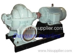 marine double suction mid-open horizontal centrifugal pump