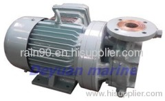 marine horizontal crushing pump