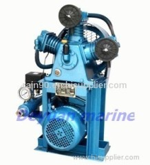 CVF-90/1 marine vertical low pressure air compressor