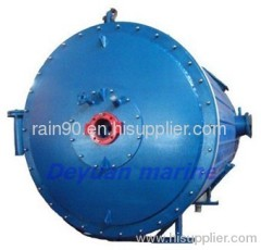 marine horizontal hot oil boiler