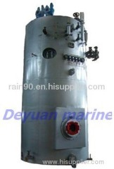 marine vertical hot oil boiler