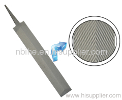 Feather edge file with high quality and various grip