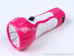5 LED rechargeable plastic torch