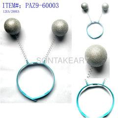 party ball hair hoop