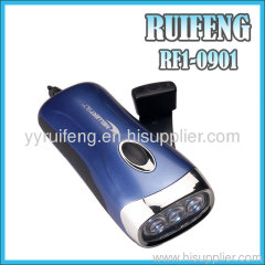 high light dynamo torch energy saving hand crank led flash