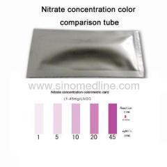 Nitrite Color Comparison Tube