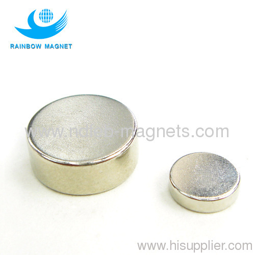 Powerful Neodymium magnet NdFeB disc N38SH