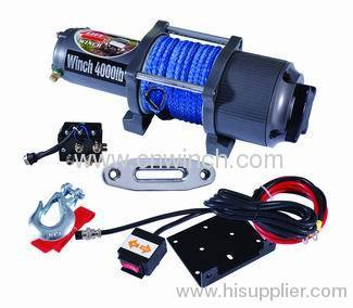 UTV WINCH 4000LBS with synthetic rope