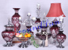 glass craft / home accessories / storage jar / vase / candlestick
