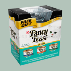 4 Color Printed Corrugated Carton for fancy feast