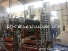 Large diameter PE water supply pipe production line